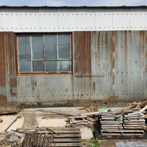 栃木県佐野市,倉庫の外壁塗り替え工事
