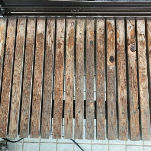 佐野市,玄関化粧梁/柱,ぬれんの塗装工事