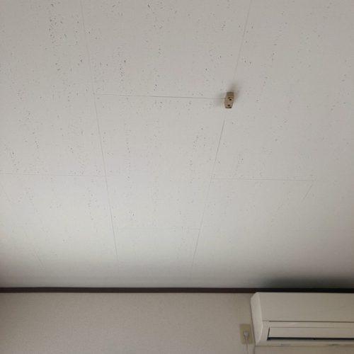 佐野市,アパートの天井塗替え